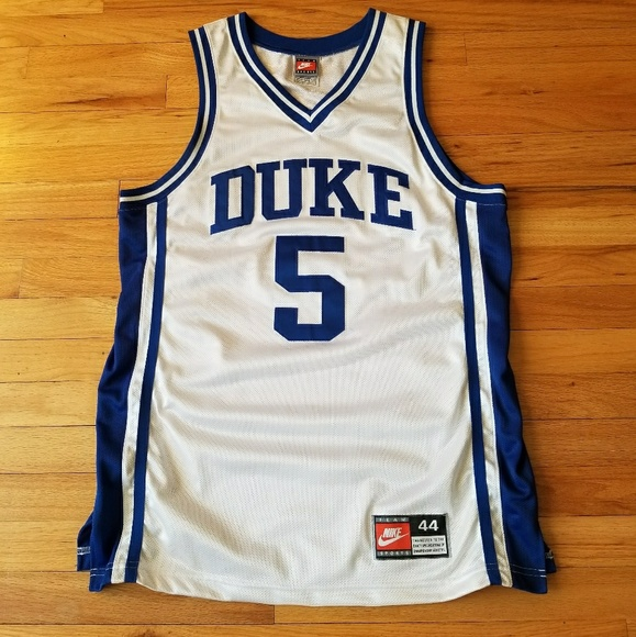 32ee422ede20 Vintage Nike Duke Team-Issued Basketball Jersey. M 5ab42133fcdc3189f362bee5